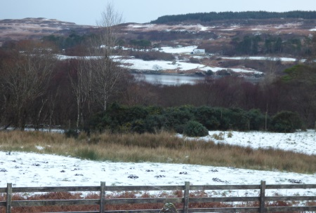 Ardrioch view after snow