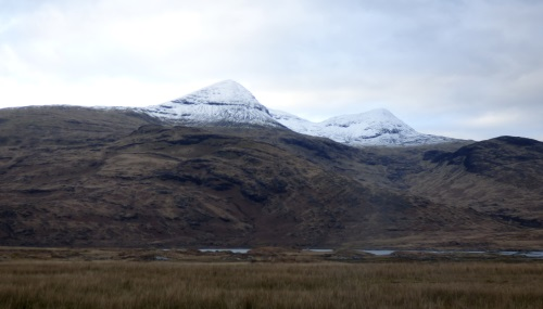 Ben More snow peaked