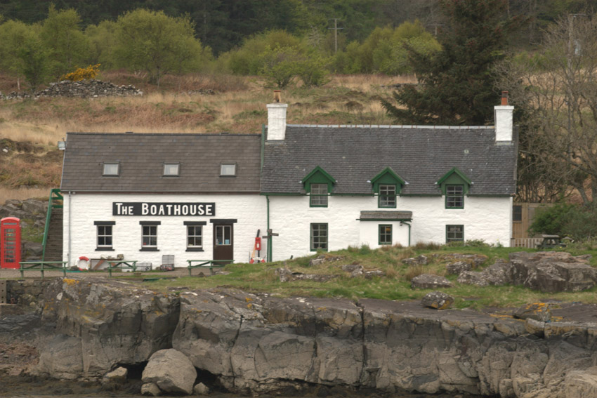 The                                       Boathouse Ulva