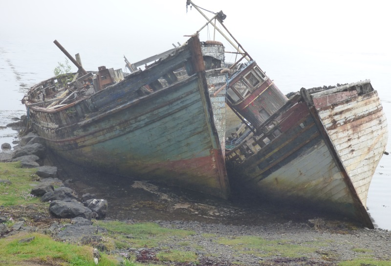 Boats at Salen
