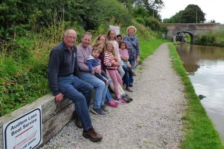 Brown Family by the canal