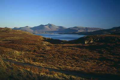 Ben More with                             Ulva Ferry in the fore ground by Nic Davies