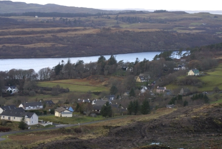 Dervaig                                       and Loch Cuin