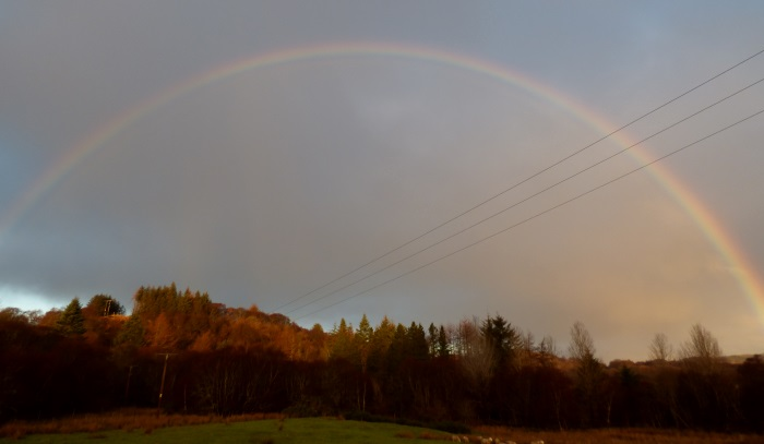 Rainbow                                       over Ardrioch