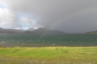 Rainbow over Loch Spelve