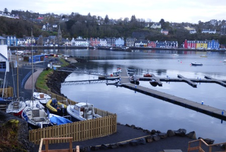 Tobermory early                                     morning