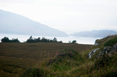 The gap between Ulva and                                       Gometra