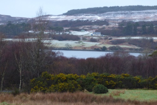 View from                                       Ardrioch after snow