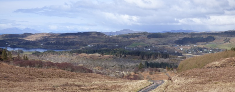 View over Dervaig
