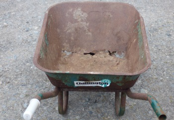 Wheelbarrow old